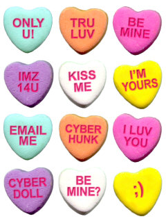 candy hearts Candy Heart Sayings