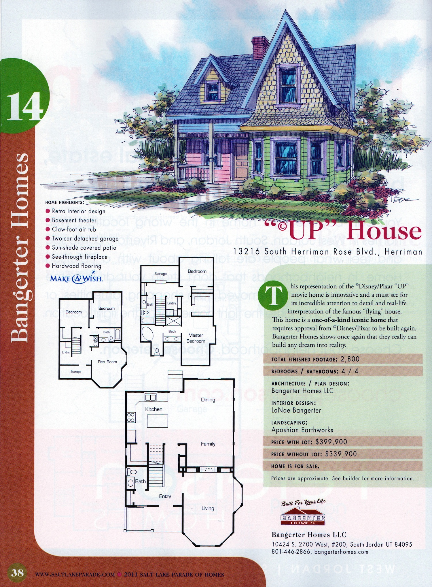 Up House Details