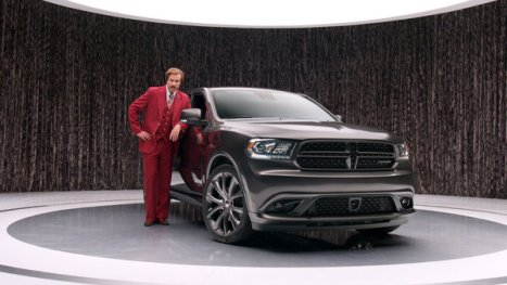 "Ron Burgundy"" anchors new 2014 Dodge Durango advertising campa"